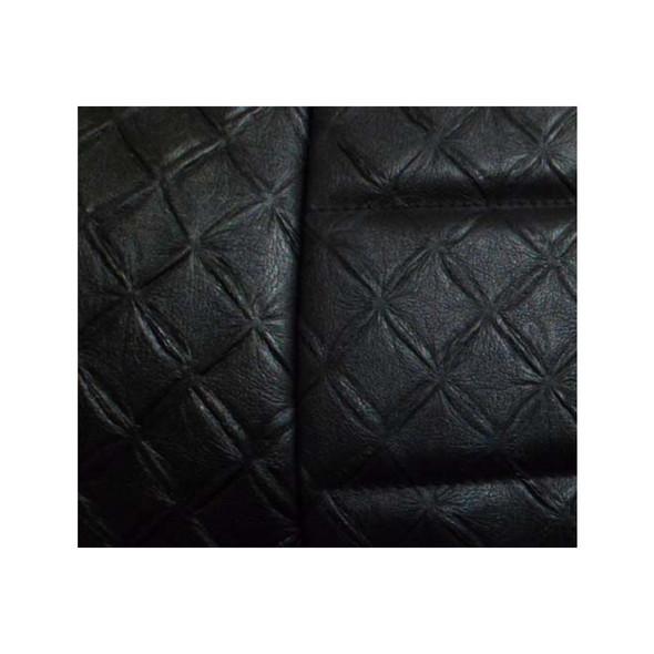 Black Vinyl Seat Cover No Pocket