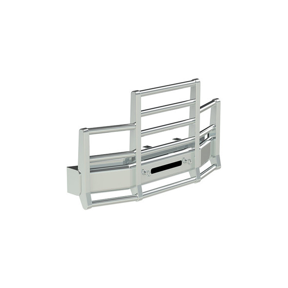 Freightliner Cascadia Herd 4 Post Defender Bumper Grill Guard With Horizontal Bars
