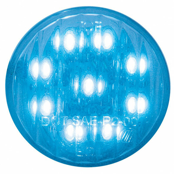 """2"""" Round Blue LED Utility Light"""