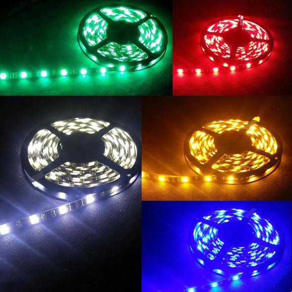 5M LED Light Strip Green Red Amber Blue White