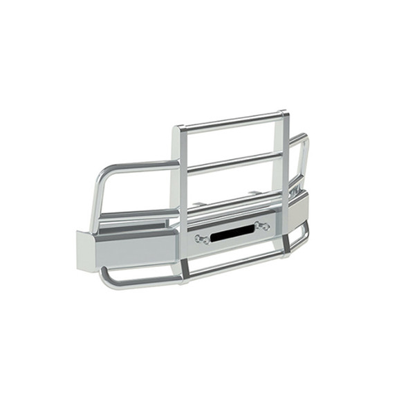 Freightliner Columbia Herd 2 Post Defender Bumper Grill Guard With Horizontal Bars