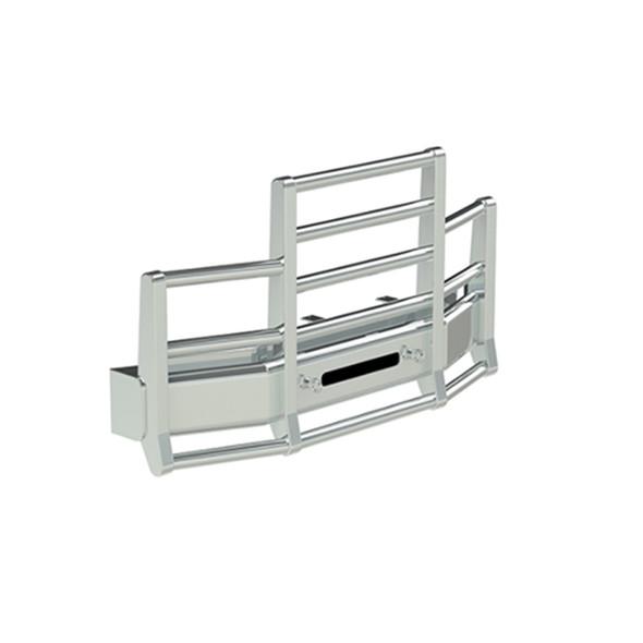 International 9200 9400 Herd 4 Post Defender Bumper Grill Guard With Horizontal Bars