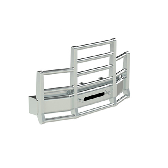 Western Star 4900 Herd 4 Post Defender Bumper Grill Guard With Horizontal Bars