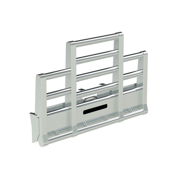 Freightliner FLD 120 SFA Herd Super Road Train Bumper Grill Guard With Horizontal Tubes and Slam Latch