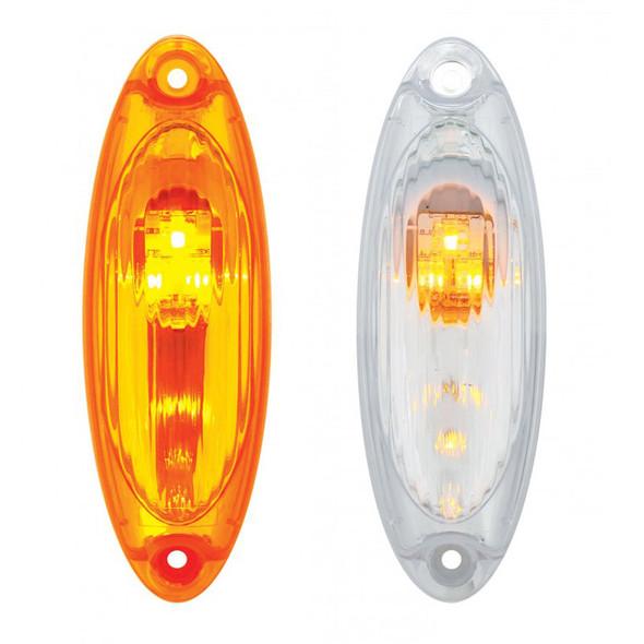 Freightliner Cascadia LED Reflector Cab Light Lit