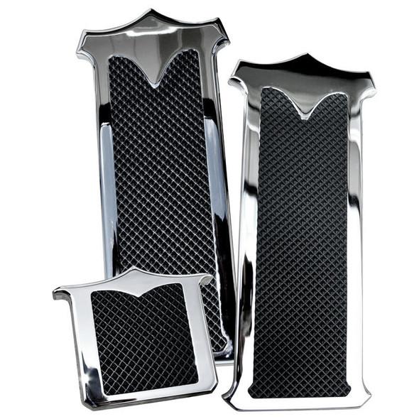Peterbilt Chrome Plated Billet Aluminum Foot Pedal Set