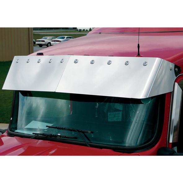 "Kenworth W900 T800 13"" Bulls Eye Drop Visor Blind Mount"