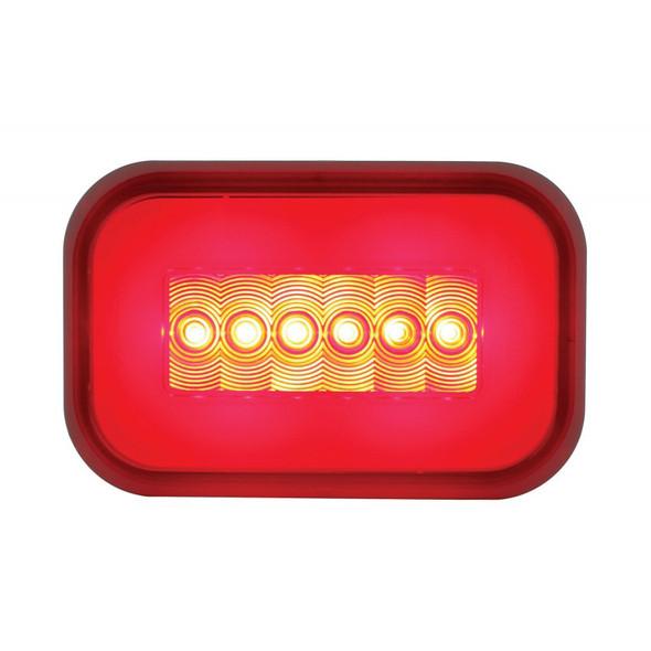 14 LED Rectangular STT GLO Light Lit
