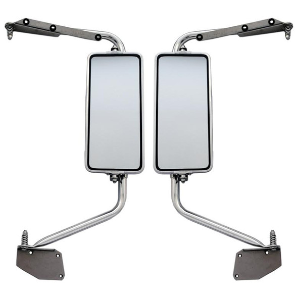 International 4200 4300 4400 7000 8600 Series Mirror Assembly Front View