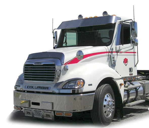 """14"""" Freightliner Columbia Day Cab Sunvisor 2001+ Angle View"""