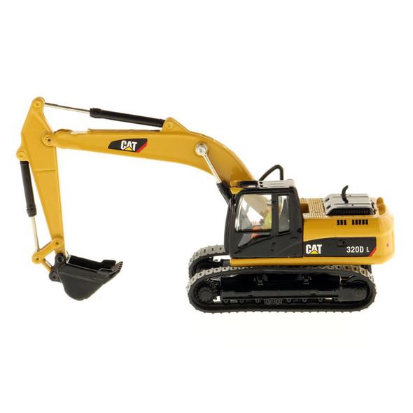 Caterpillar 320D L Hydraulic Excavator 1/87 Scale Side
