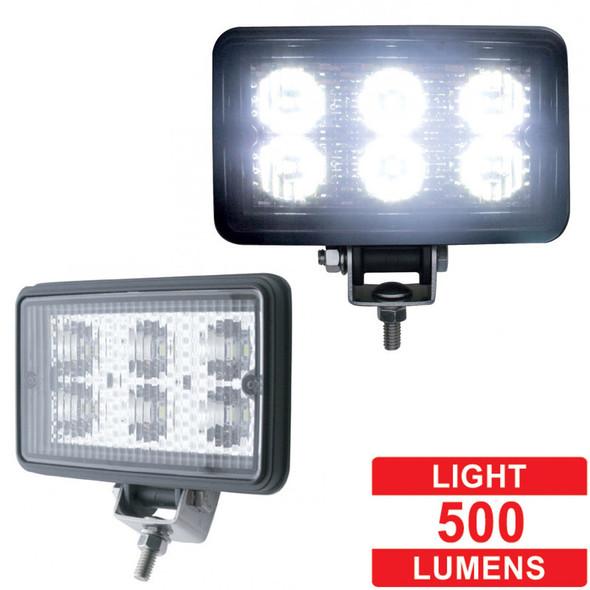 High Power LED Rectangular Work Light - Lumens