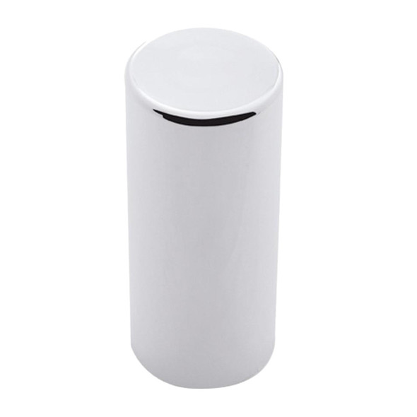 Plastic 33mm Thread-On Cylinder Nut Cover Chrome