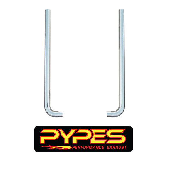 """Freightliner Classic FLD 10"""" Stainless Steel Exhaust Kit Mitered Stack - Pypes"""