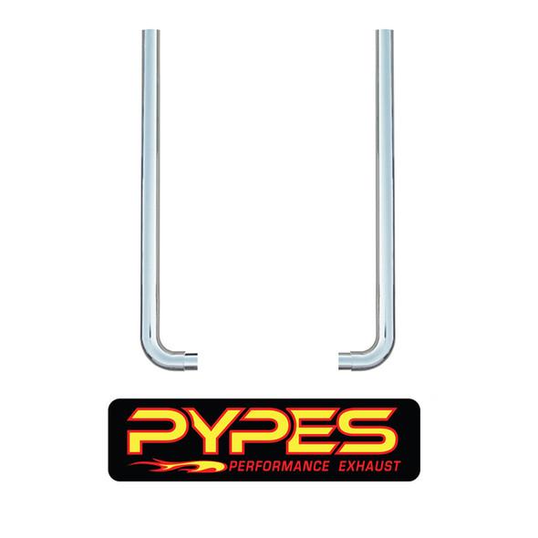 "Pypes Peterbilt 359 379 8"" Stainless Steel Exhaust Kit"