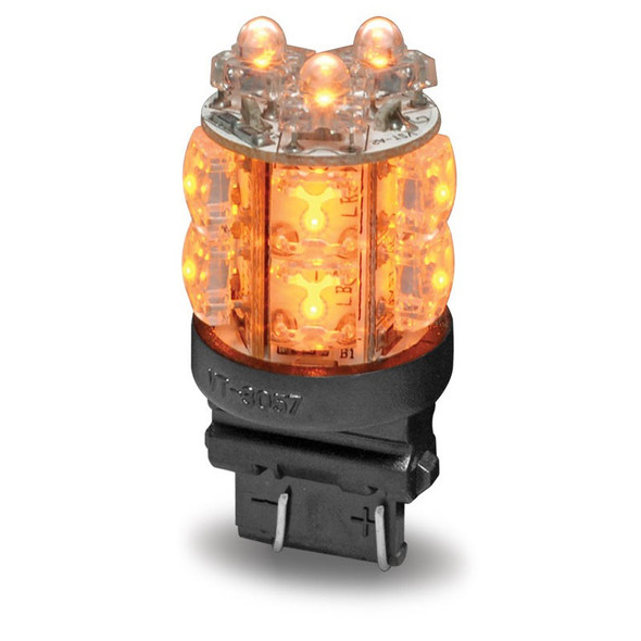 LED 360 Degree 3157 Push In Replacement Bulb Amber