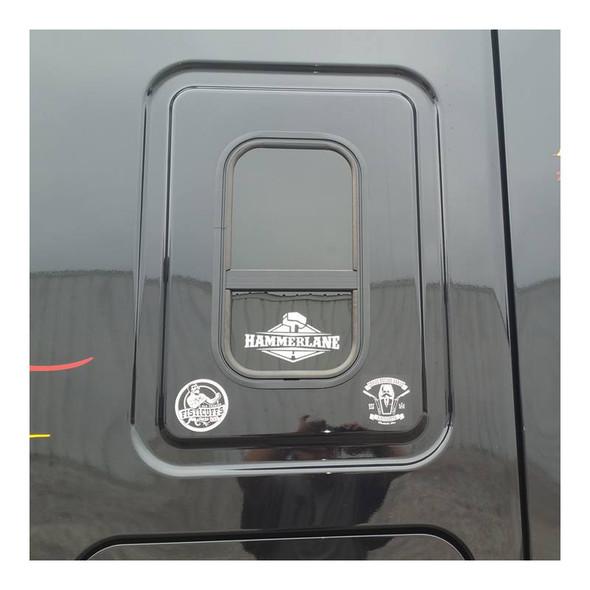 Hammer Lane Logo Decal On Semi Truck