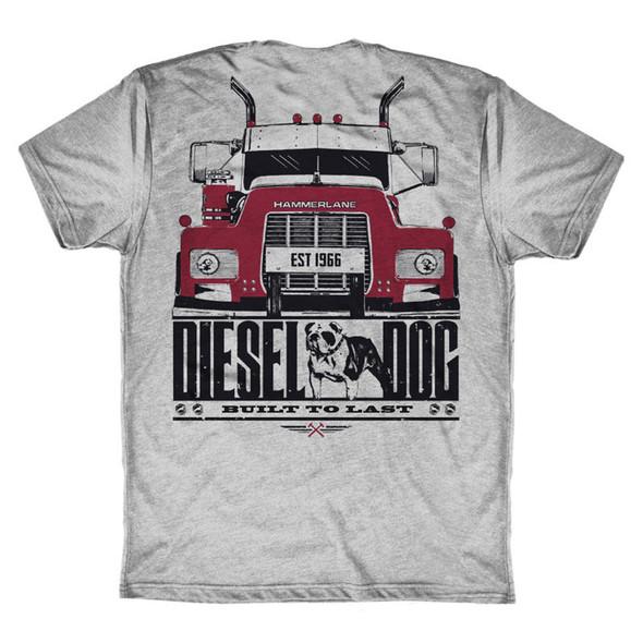 Diesel Dog Hammer Lane Trucker T-Shirt Back