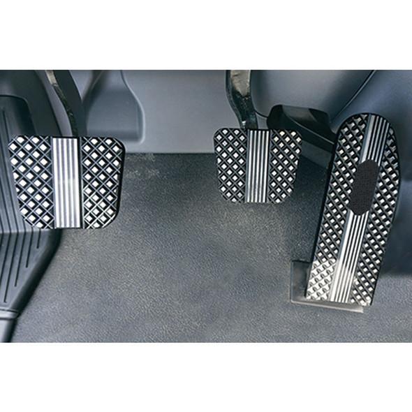 Kenworth 2014+ T660/T680/T880 2014+ Black Diamond Billet Foot Pedal Set