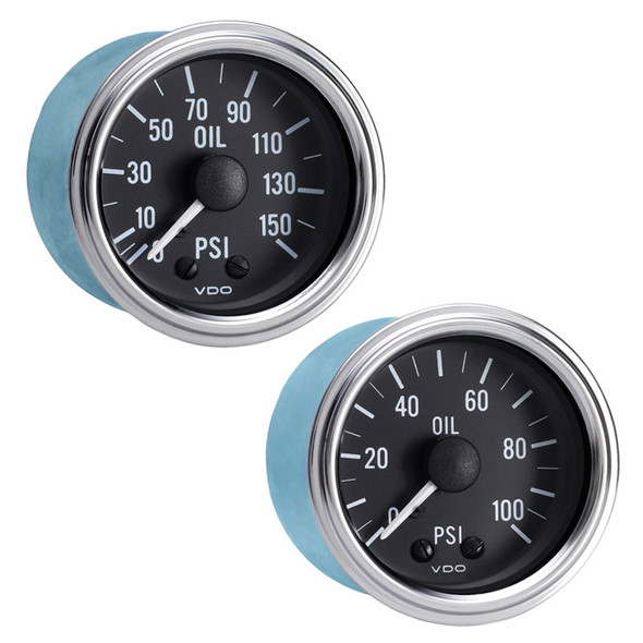 Semi Truck Mechanical Oil Pressure Gauge Kit Series 1