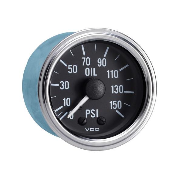Semi Truck Mechanical Oil Pressure Gauge Kit Series 1 150 PSI