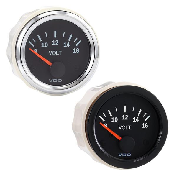 Semi Truck Electrical Voltmeter Gauge Vision