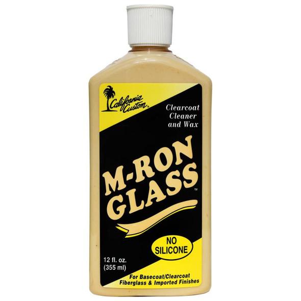 California Custom M-Ron Clearcoat Cleaner & Wax