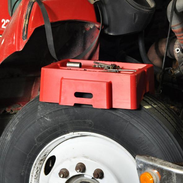 Minimizer Single Tire Work Bench On Tire