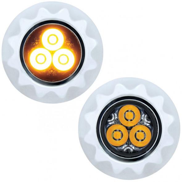 High Power LED Mini Warning Light Amber