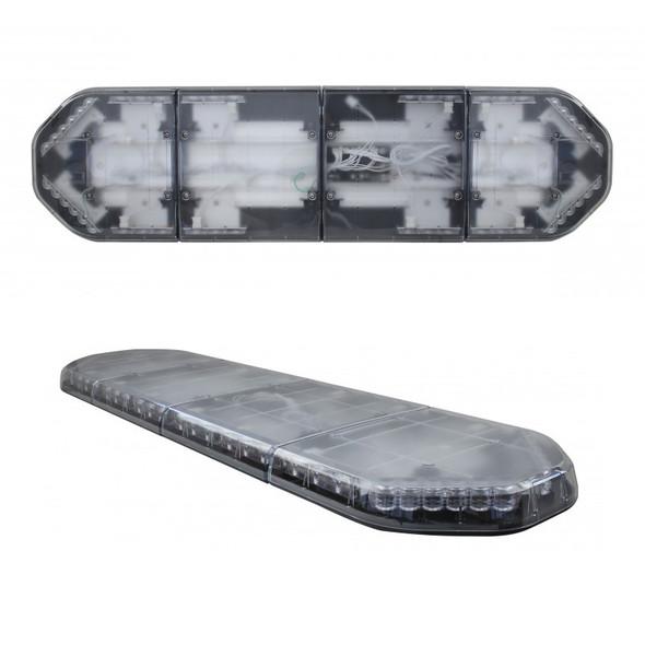 49Š— High Power LED Warning Light Bar Top And Tilt View