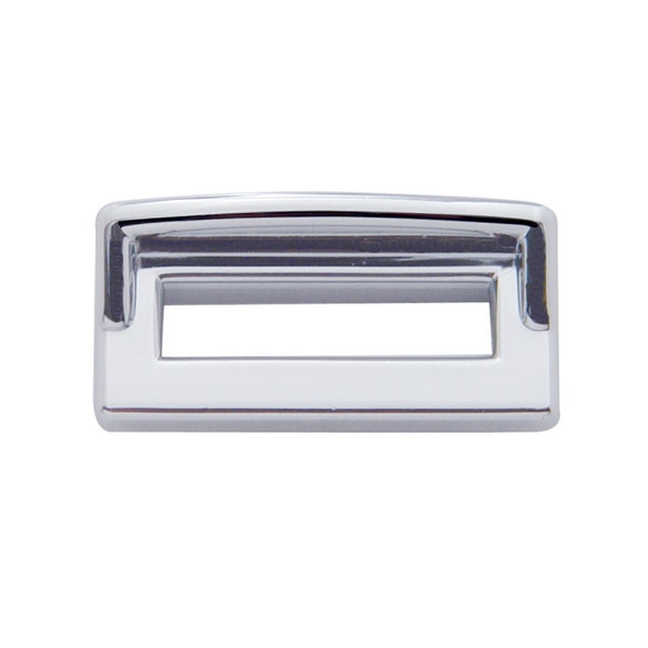 Peterbilt Chrome Plastic Toggle Switch Label Cover With Visor