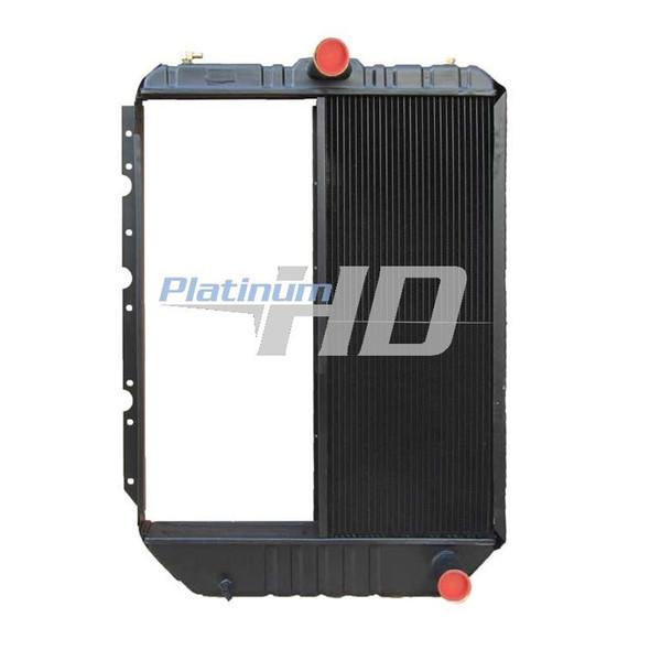 International 4900 Series Half Core Radiator With Oil Cooler