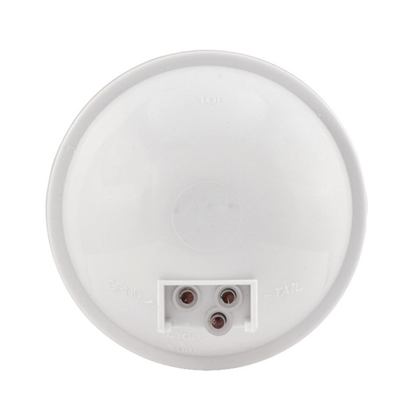 "4"" Round White Back-Up LED Light Reverse"