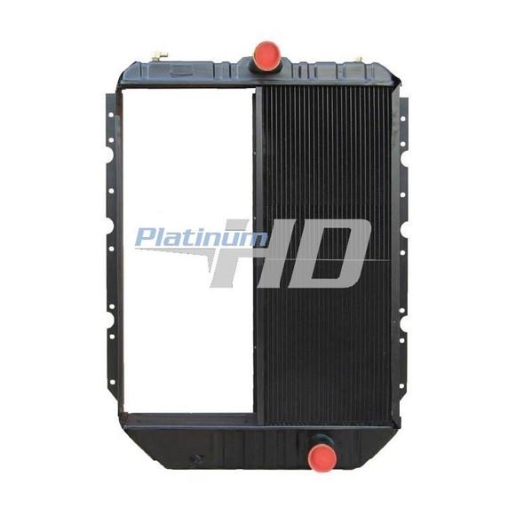 "International 4900 Series Half Core Radiator 2 1/4"" Bottom Connection"
