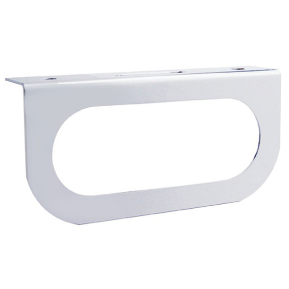 Stainless Steel Oval Light Bracket With Flange