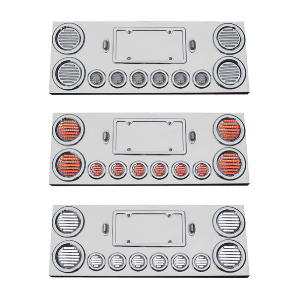Rear Center Panel With Red & White Dual Revolution LEDs