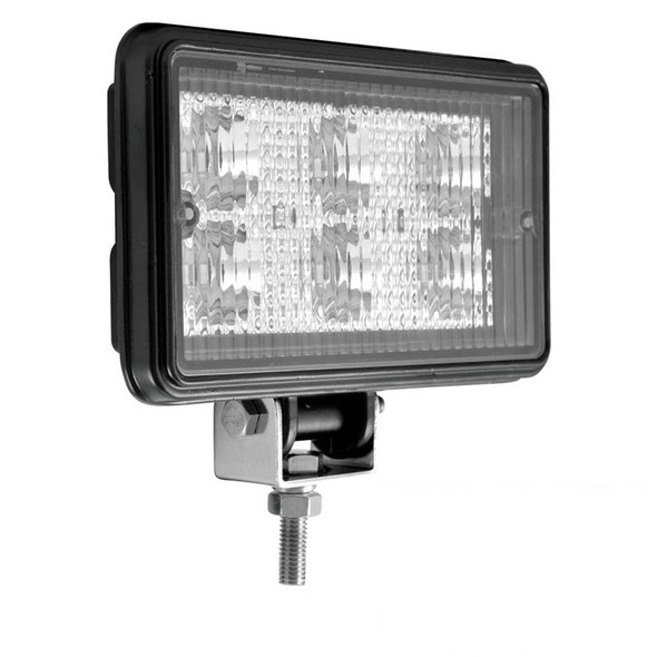 Rectangular 6 Diode LED Work Lamp With Spot Or Flood Beam
