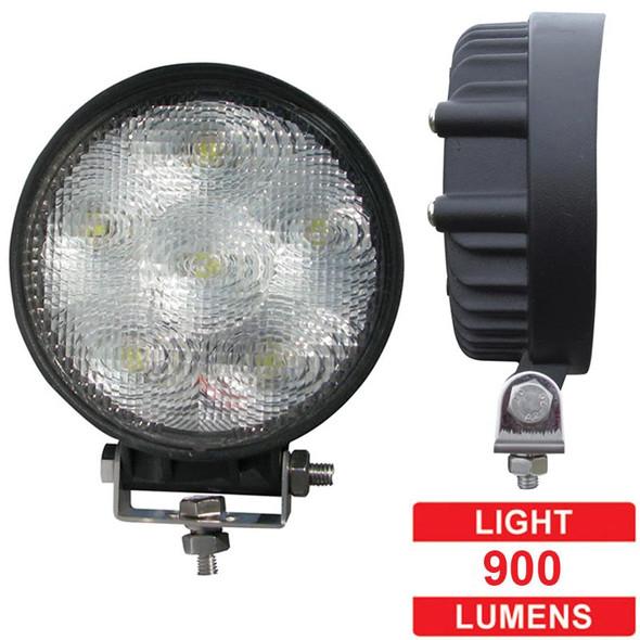 "3"" Round Mini 5 Diode LED Flood Work Light - Lumens"