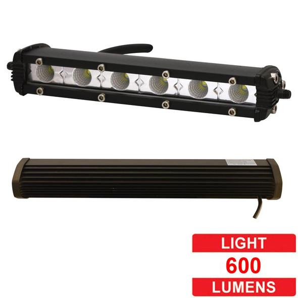 "7"" Mini Flood And Spot LED Light Bar - Lumens"