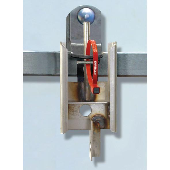 The Enforcer Portable Seal Guard Padlock Lock Open