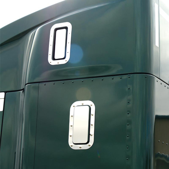 Kenworth T680 & T880 Sleeper Vent Cover & Dimpled Trim