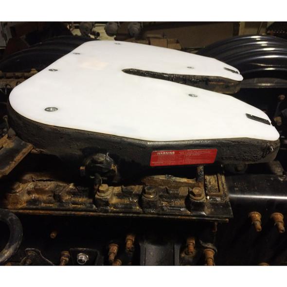Simplex Fifth Wheel Slick Plate Left Side