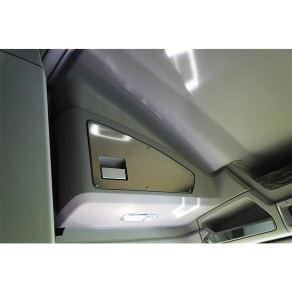 Kenworth T680 & T880 Cab Door Storage Covers And Cab Light Trim