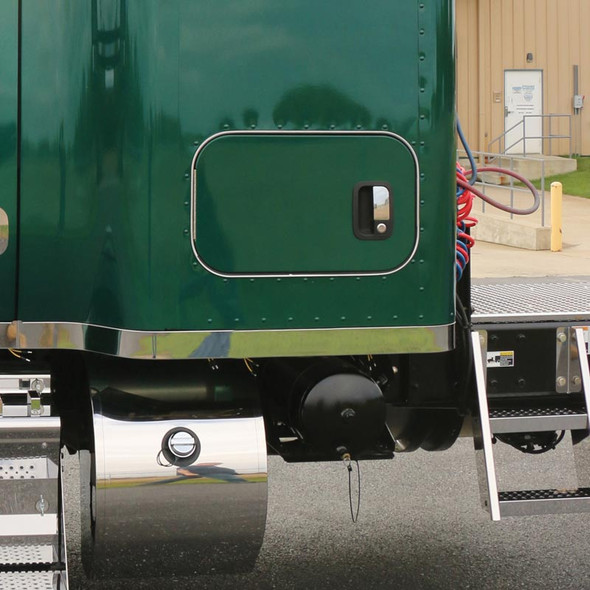 """Kenworth T680 T880 52"""" Blank Sleeper Panels Without Extension Or Side Stacks"""