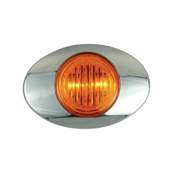 M3 Millenium 2 LED Marker Light Amber LED Amber Lens