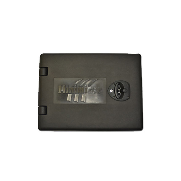 """Minimizer 18"""" Poly Underbody Toolbox Black Top View"""