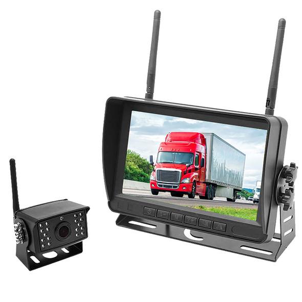"Digital Wireless Heavy Duty Bracket Backup Camera With 7"" LCD"