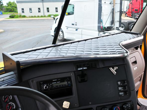 Freightliner Cascadia V-Truck Custom Dashboard System Long Shelf With Black Vinyl