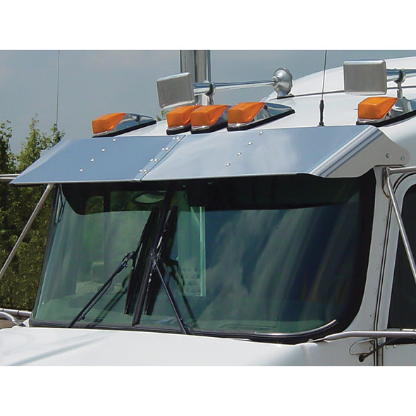 Kenworth Replacement Visor for Curved & 99-05 Flat Windshields