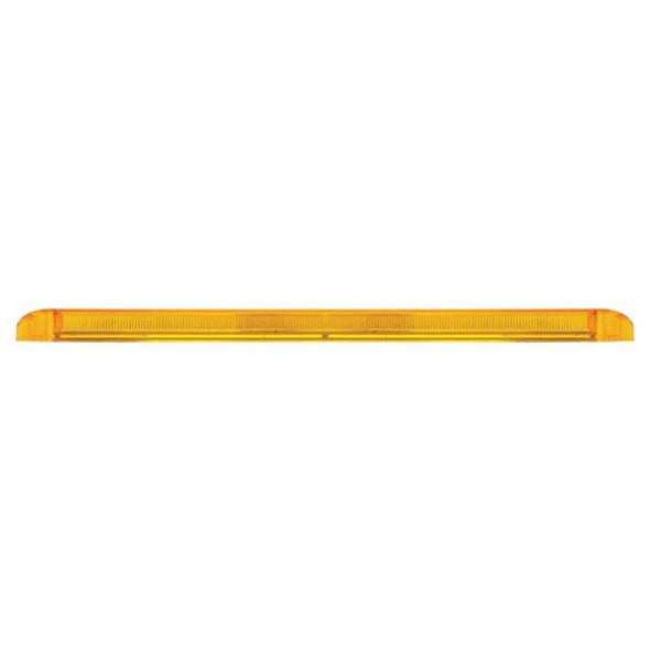 "17 1/4"" 23 SMD LED STT & PTC Light Bar With Reflector Amber Side"